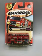 Matchbox 2000 London Bus Diecast Car 74, 1:64 Scale New In Package!