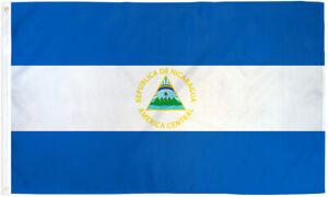 Nicaragua 2x3ft Flag of Nicaragua Nicaraguan Flag 2' x 3' Country Banner