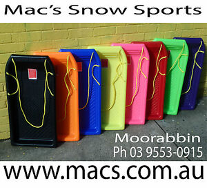 TOBOGGAN SNOW SLED CARVE *AUST APPROVED* PICK A COLOUR* FAST POSTAGE