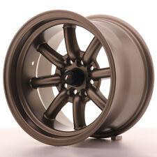 Japan Racing JR19 Alloy Wheel 15x9 - 4x100 / 4x114.3 - ET-13 - Matt Bronze