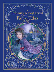 *New Sealed Leatherbound* A TREASURY OF BEST-LOVED FAIRY TALES (2018)