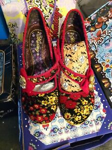 Irregular Choice Whiskers High Heeled Shoes Size 6