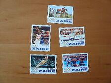 Zaire Olympia 1996 Atlanta  Mi. 1126 - 1130     postfrisch