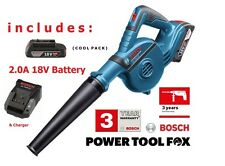 Bosch - 18V-120 BLOWER (Inc 2,0AH Battery & Charger) 06019F5100 3165140821049V