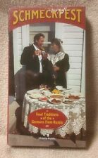 SCHMECKFEST Food Traditions of the Germans From Russia VHS Video Prairie Public