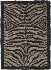 5x8' Chandra Rug  Amazon Hand-woven Contemporary  New Zealand Wool & Polyester A