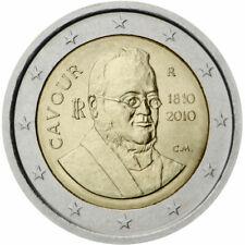 Italie 2010 - commémo 2eur- comte de Cavour— UNC