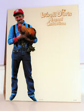 1995 Vintage Schmid Rare Lowell Davis Holding Chicken Magnetic Picture Board