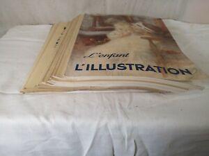 Lot 17 REVUES magazine L'ILLUSTRATION annee 1934 Paris collection ancien L3