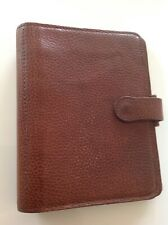 Beautiful Vintage Mulberry Agenda Filofax In Wexford Deer Leather