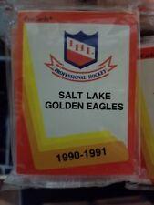 1990-91 Pro Cards IHL SALT LAKE GOLDEN EAGLES Hockey Team Set Sealed