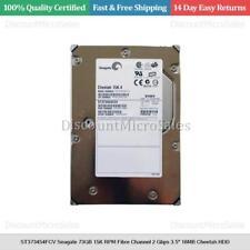 "ST373454FCV Seagate 73GB 15K RPM Fibre Channel 2 Gbps 3.5"" 16MB Cheetah HDD"