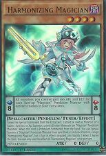 3X YU-GI-OH CARD: HARMONIZING MAGICIAN - ULTRA RARE - PEVO-EN010 - 1ST EDITION