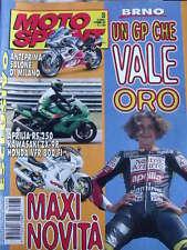 Motosprint 35 1997 Valentino Rossi mito a BRNO - Test Aprilia RS 250