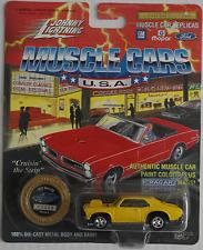 Johnny Lightning -'72/1972 Chevy Nova SS amarillo nuevo/en el embalaje original