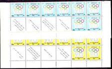 Saudi Arabia 1984** Mi.795/96 Tab Olympic Games   IOC Anniversary