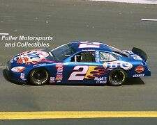 RUSTY WALLACE HARLEY DAVIDSON 2000 #2 MILLER LITE 8X10 PHOTO NASCAR WINSTON CUP