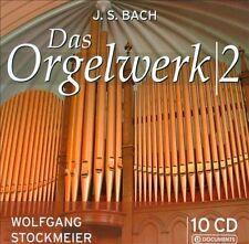 J.S. Bach: Das Orgelwerke Vol. 2 10 CD collection NEW Wolfgang Stockmeier
