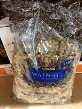Kirkland Signature Walnuts Shelled 3 Lb Bag US #1 Premium 48 Oz