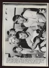 Original 1967 Mickey Mantle Family 500th HR Wire Photo