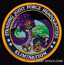 USAF STANDING JOINT FORCE HEADQUARTERS WMD ELIMINATION ORIGINAL DOD PATCH