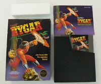 Rygar (Nintendo NES) -CIB Complete in box -5-screw version -Tested FREE SHIPPING