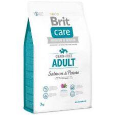 3 kg Brit Care Adult Salmon & Potato - Hundefutter getreidefrei & hypoallergen