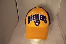 Milwaukee Brewers Strapback Hat Cooperstown Collection One Size MLB Baseball Cap