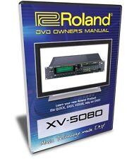 Roland XV-5080 DVD Training Tutorial Manual Help