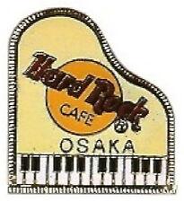 Hard Rock Cafe OSAKA 1999 Yellow GRAND PIANO PIN 3LC Logos - HRC Catalog #7057