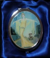 "UNITY GIFTS  ""ELEGANT LADY - COMPACT MIRROR"" 75783   NEW SLIGHTLY MARKED RIMS"
