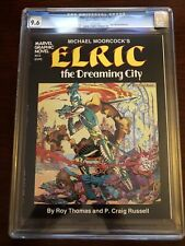 Marvel Graphic Novel #2 CGC 9.6 White Pages -- Elric: The Dreaming City