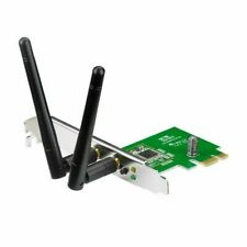 ASUS PCE-N15 Wireless Network Card N300 PCI Express Adapter 300Mbps 802.11 b/g/n