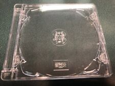 5 NEW ORIGINAL SUPER CD JEWEL BOX W SJB LOGO, SJB STANDARD,LARGE HINGE, O-SJB