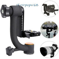 Pro 360° Swivel Pro Panoramic Gimbal Tripod Ball Head For Camera Telephoto Lens