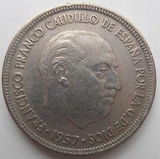 España 5 pesetas 1957 1975