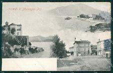 Varese Maccagno TRACCE UMIDO cartolina QK9527