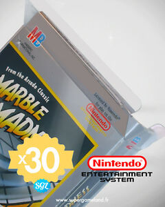30 BOITIERS PROTECTION PROTECTIVE CASE NINTENDO NES 0,4 mm NEUFS