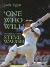 Excellent, `One Who Will': The Search for Steve Waugh, Jack Egan, Book