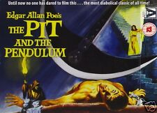 The Pit and the Pendulum [1961] (Blu-ray)~~Vincent Price~~STEELBOOK~~NEW SEALED