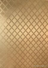Antique Radio Speaker / Grille Cloth,18x24, Gold Diamond, Free Ship in US