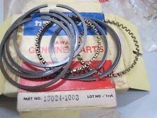 KAWASAKI NOS RARE PISTON RING SET (2) +.1.00mm O/S Z250 A1 13024-1003