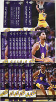 (10) 1999 Collector's Edge Kobe Bryant Lakers 3 Card Insert Set KB1-KB3 Mint