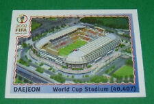 N°8 DAEJEON STADE WORLD CUP PANINI FOOTBALL JAPAN KOREA 2002 COUPE MONDE FIFA