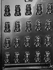 BS SMALL SITTING BUNNIES MOLD chocolate candy eater bunny rabbit molds E0