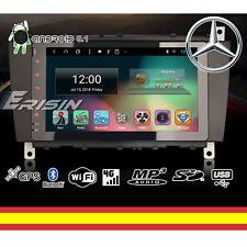 AUTORADIO ANDROID 8.1 Wifi GPS MP3 Mercedes CLK C W203 Soporta 4G TDT DAB TPMS