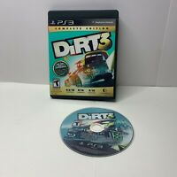 DiRT 3: Complete Edition (Sony PlayStation 3, 2012) PS3 NO Manual
