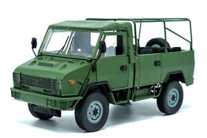 1/24 IVECO NJ2046 ARMY Truck diecast model green color