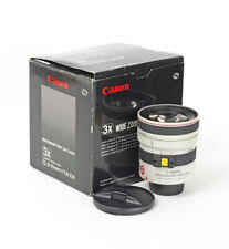 Canon Zoom CL Lens 1.6-2.6/5-15mm 3x Wide Zoom Video Lens Boxed