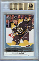 2017/18 Upper Deck *Charlie McAvoy* Young Guns Rookie Card (RC) BGS 9.5 True Gem